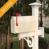 Mailbox Installation - Post Mounted - First-Time Installation