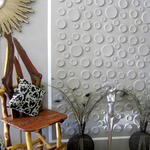 32 sqft- Craters Design. Artwall 3D Wall Panels 12//Box Textured Wall Tiles
