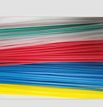 red PP Plastic welding rods pack of 30 rods triangle shape 4mm