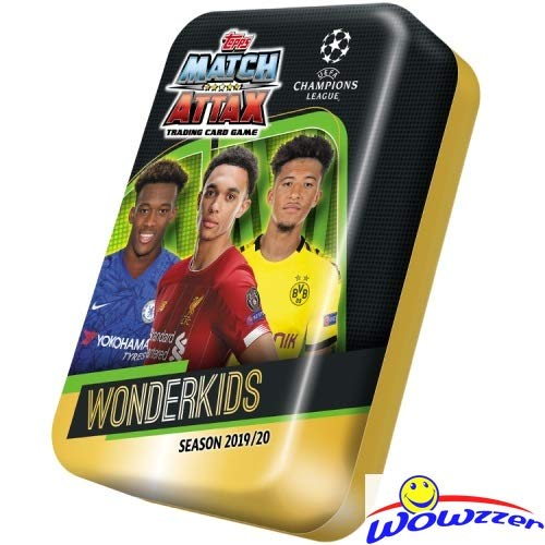 2019/20 Topps Match Attax Champions League Soccer EXCLUSIVE Collectors MEGA TIN with 60 Cards Includ - http://coolthings.us