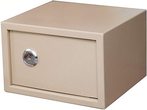 ZCF Caja Fuerte Mini Cajas Fuertes, Caja de Seguridad de Acero ...