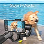 Hohem iSteady Mobile Plus - 3-Axis Handheld Gimbal Stabilizer, Supports Max. 280G, 600 Degrees Roll Inception Mode, Auto Face Tracking, which can Work with iPhone 11 Pro Max and Android Smartphones. 5