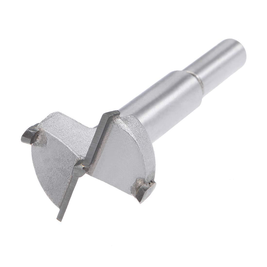 32mm Diameter sourcingmap Hinge Boring Forstner Drill Bit 8mm Shank