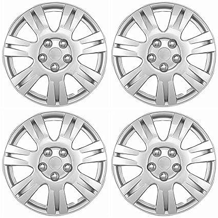amazon motorup america auto hubcap set of 4 16 inch snap on 05 Sienna Interior image unavailable