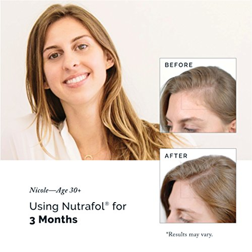 Hair Loss Thinning Supplement – Women Hair Vitamin for Thicker Healthier Hair by Nutrafol (Image #5)