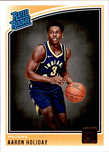 2018-19 Donruss #176 Aaron Holiday Rated Rookie RC INDIANA PACERS UCLA BRUINS