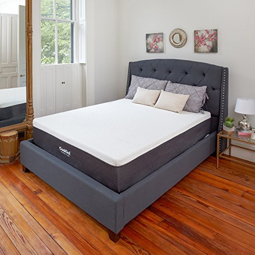 Classic Brands Cool Gel Memory Foam 12-Inch Mattress, Twin XL Plush Gel