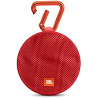 JBL Clip 2 Waterproof Portable Bluetooth Speaker - Red (Certified Refurbished)