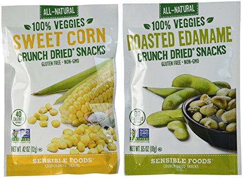 Sensible Foods Veggie Variety Pack, Corn/Edamame, 20 -