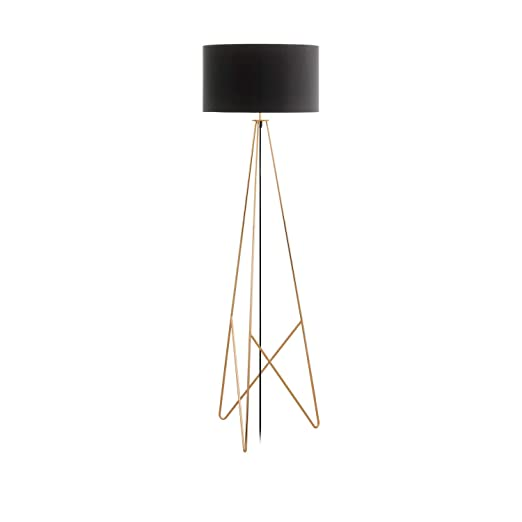 Eglo Floor Lamp Steel 60 W Copper Amazoncouk Lighting