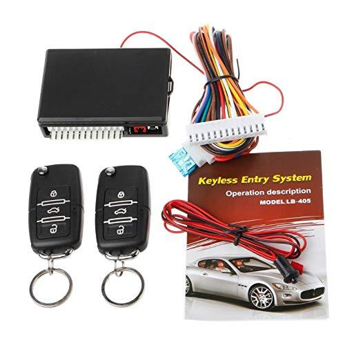 Small-Chipinc - Universal Car Remote Control Central Kit Door Lock Locking Keyless Entry System Car Alarm
