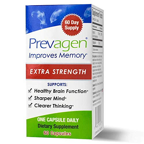 40 Mg 90 Capsules - Prevagen Extra Strength 20 mg 60 Caps