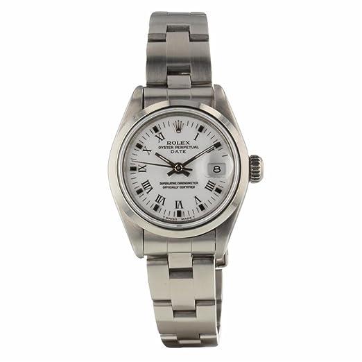 Rolex Oyster - Reloj de Pulsera para Mujer, automático, con Certificado de autenticidad: Rolex: Amazon.es: Relojes