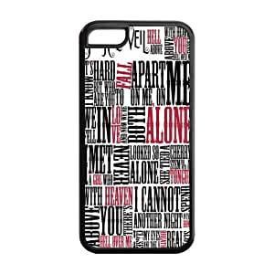 5/5s Phone Cases, Pierce The Veil Hard TPU Rubber Cover Case for iPhone 5/5s