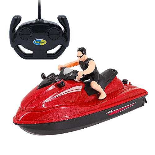 Multifit Toddler RC/Remote Control 4 Function Jet Ski Spe...