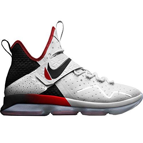 Nike Mens Lebron Xiv Vit / Svart / Röd 852405-103