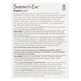 Summer's Eve FreshCycle Cleansing Cloths, Reduces