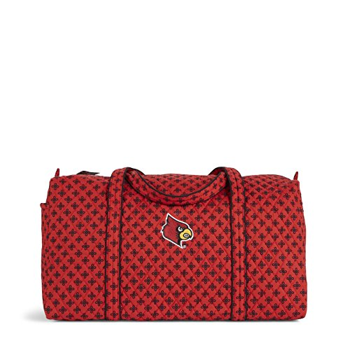 NCAA Louisville Cardinals Women's Duffel Bag, Red/Black, Large (Duffle Cardinals Bag Louisville)