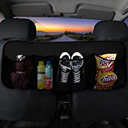 FH Group FH1122BLACK Car Trunk Organizer (Multi-Pocket Storage Collapsible for Easy Carry Perfect for Garage or Grocery Store), 1 Pack