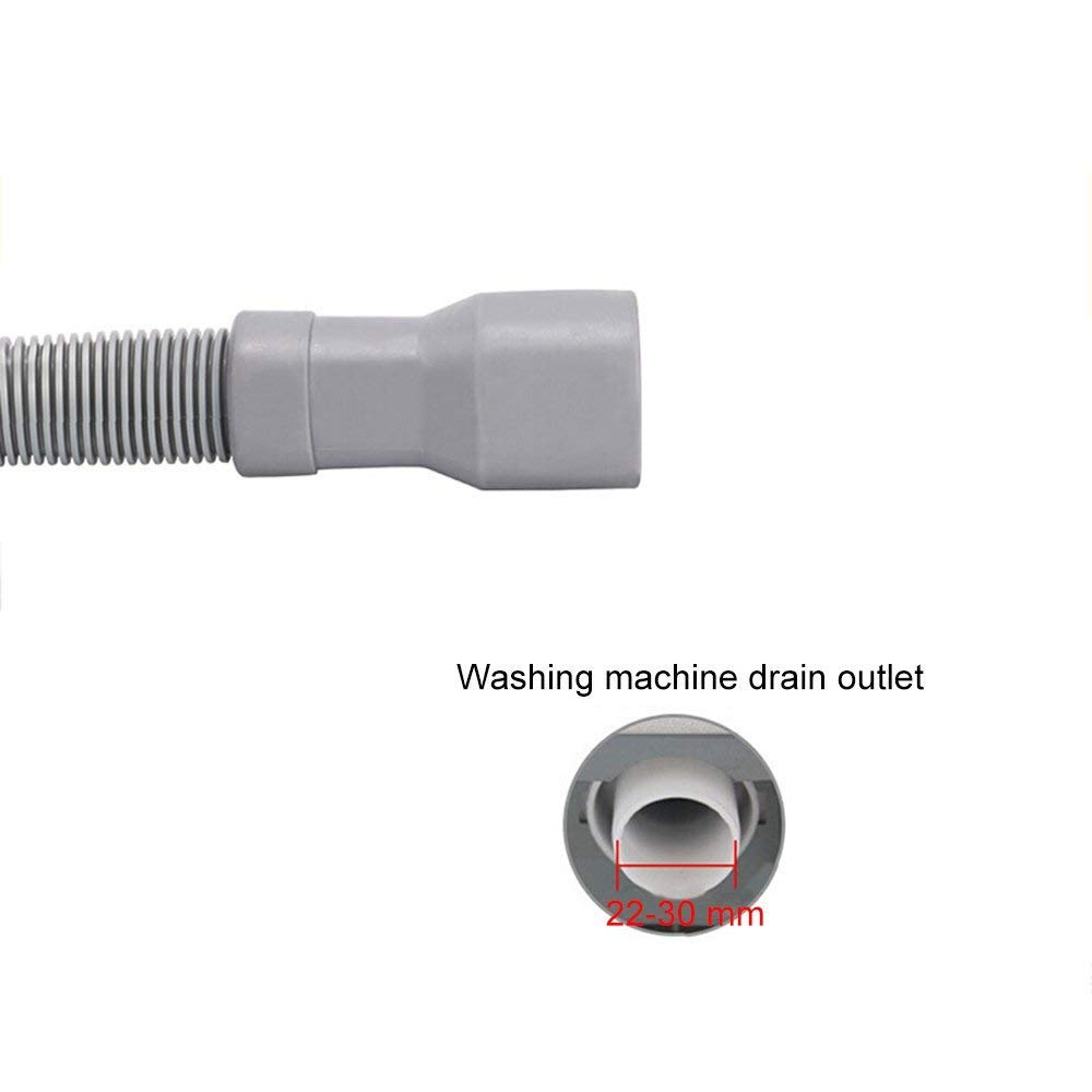 Gaocheng Universal Washing Machine Discharge Drain Hose,6 Foot,Drain Hose Extension For Washing Machines//Dishwasher