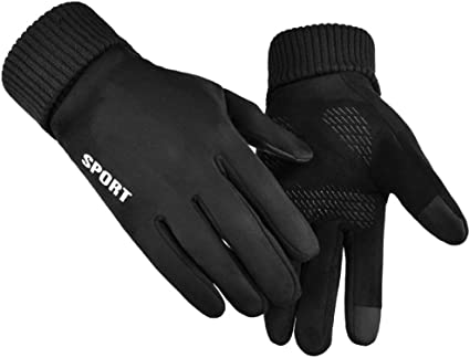 Sendiya Sport Cycling Gloves For Women Men Winter Windproof Touch Screen M L XL