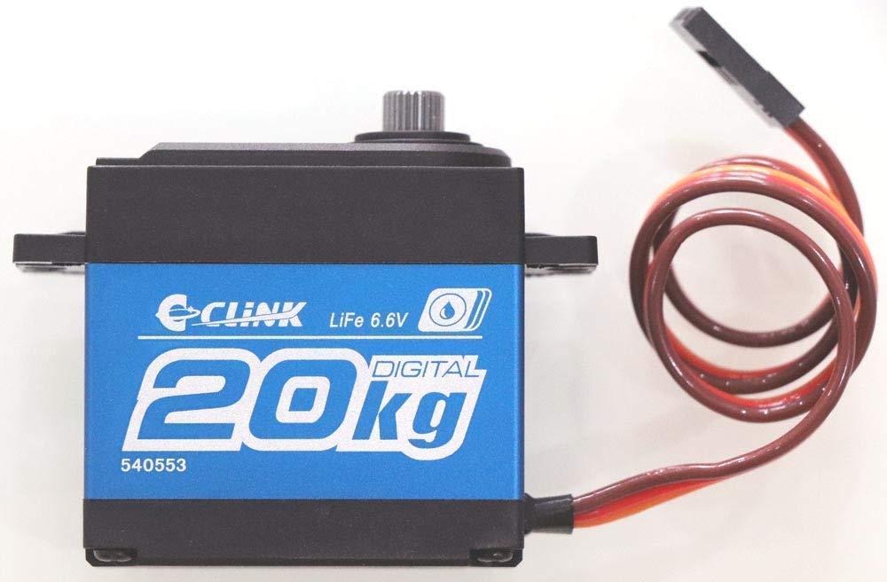C CLINK Waterproof 4.8-6.6V Super High Torque Digital Servo Crawler RC Cars #LW-20MG Shinerun