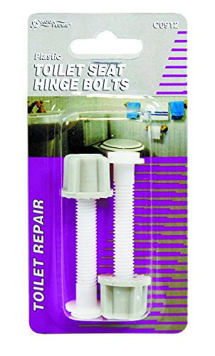 Aqua Plumb Aqua Plumb C0912 Toilet Seat Hinge Bolts - Carded Two Pack