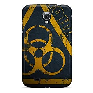 Hot New Biohazard Sign Case Cover For Galaxy S4 With Perfect Design