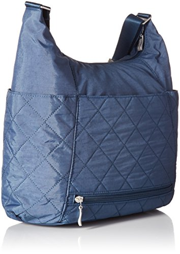 Quilt with Rfid Hobo Tote Baggallini Slate Quilted 6awT4xqO