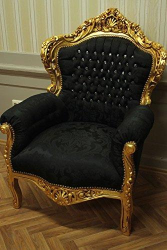 Sillón barroco Louis XV fauteuille estilo antiguo rococó ...