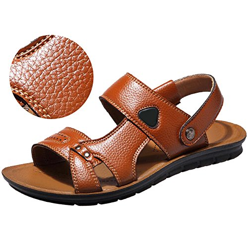 Foncé Des Plage De Hommes Brun Sandales Respirant Slip Chaussures Pantoufles on Eastlion Plage De wR4gnTxqaa