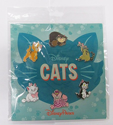 ney Cats 6 Pin Booster Set - Marie Cheshire Figaro Lady Oliver Si and Am ()