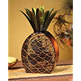 16 Extravagant Tropical Pineapple Fruit Table Top Figure Fan