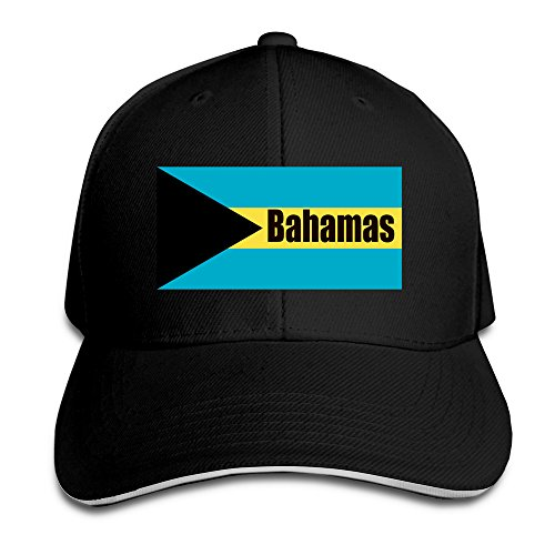 Commonwealth Bahamas Flag Trendy Hip Hop Adjustable Caps