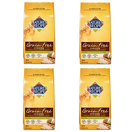Nature's Recipe Grain Free Chicken and Potato Cat Food 5-Pound (4 pack) by Nature's Recipe
