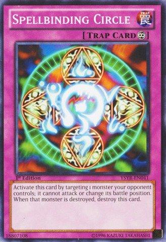 Yu-Gi-Oh! - Spellbinding Circle (YSYR-EN041) - Starter Deck: Yugi Reloaded - 1st Edition - Common