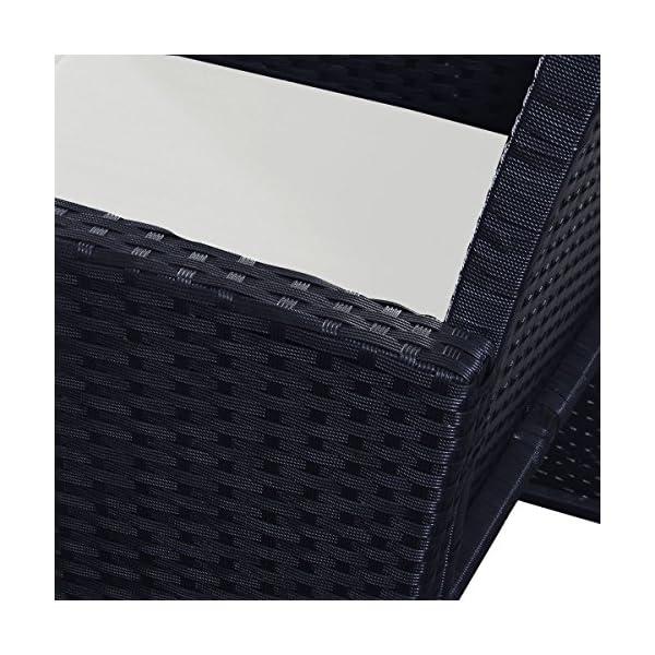 Goplus-4-PC-Rattan-Patio-Furniture-Set-Garden-Lawn-Sofa-Cushioned-Seat-Wicker-Sofa