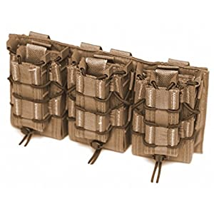 LBX TACTICAL Triple HSGI Taco Modular Panel, Coyote Brown