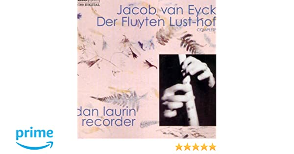 EYCK DER FLUYTEN LUSTHOF VOL 1 RECORDER