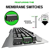 ONEXELOT-Gaming-Keyboard-Aluminum-Led-Backlight-USB-Wired-Best-Keyboard-Game-with-19-Anti-Ghosting-Keys-for-Windows-and-Mac-Silver-mod-WARDEN