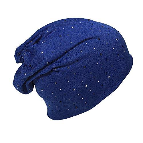 Miobo - Gorro de Punto - para Hombre azul marino
