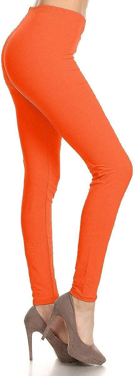 High Waisted Leggings -Soft & Slim - Solid Colors & 1000+ Prints