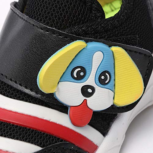 3 1 Malla Estilo Zapatillas Zapatos Deporte Dibujos Niño Animados Sneaker Niña Perro 5 Años Bebe Negro De Del wUqaqExAt