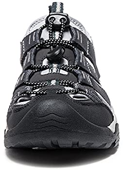 Atika At-w107-kgy_women 8 B(f) Women's Sports Sandals Trail Outdoor Water Shoes 3layer Toecap W107 1