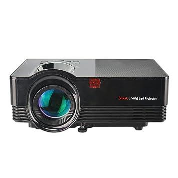 Enjoyall Proyector portátil, proyector de Cine LED HD 1080P ...