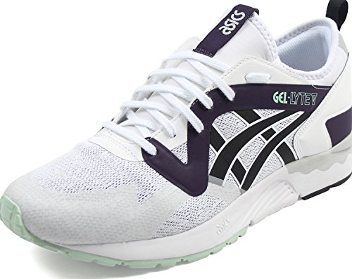 ASICS Tiger - Mens Gel-Lyte V NS Sneakers, Size: 10 D(M) US, Color: White/Black