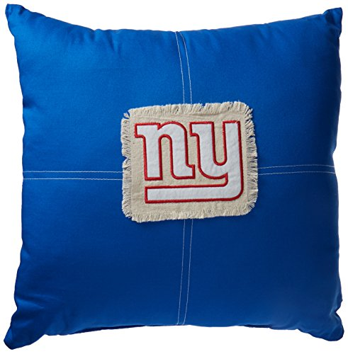 The Northwest Company Officially Licensed NFL New York Giants Letterman Pillow, 18