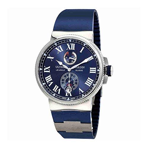 Ulysse Nardin Marine Chronometer Automatic Mens Watch 1183-122-3/43 (Chronometer Nardin Marine Ulysse)