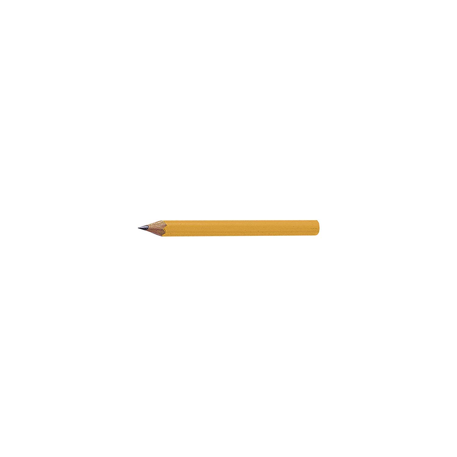 Dixon Golf Pencils, 2 HB Soft, Pre-Sharpened, Yellow, 144 Count (14998) - 5 Pack by Dixon (Image #4)