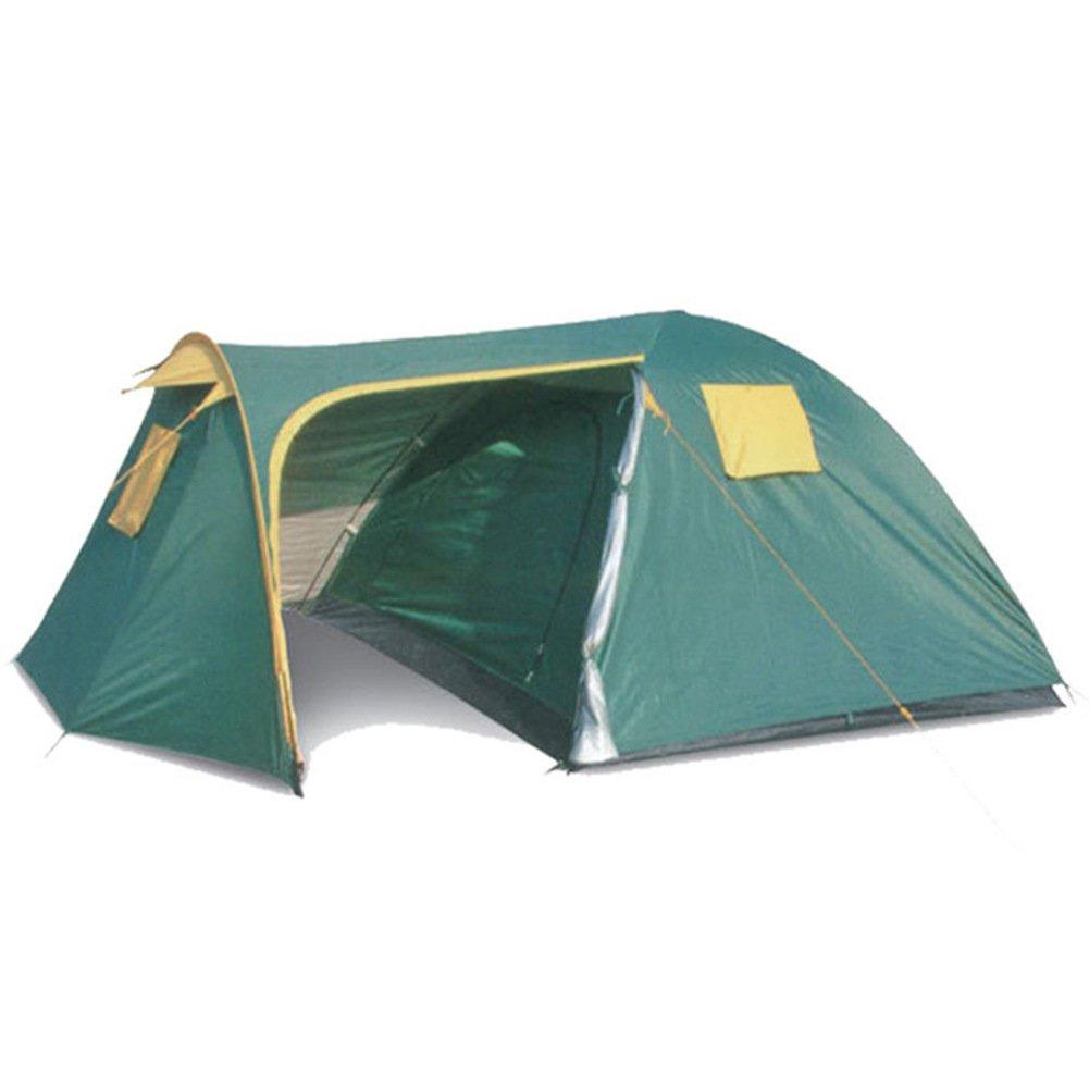Outdoor Zelten, Zelt Für 2 Personen Ein Zimmer Und Ein Saal Campingausrüstung Water Resistant Double-layer Resistente Moskito Camping Klettern Reise Kuppelzelte